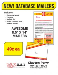 Database Mailers