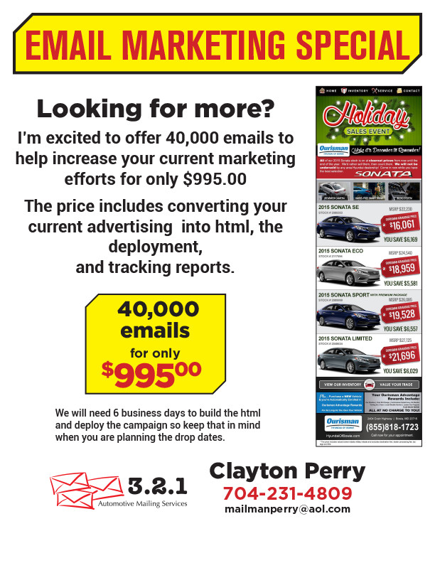 email flyer