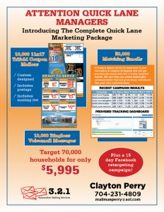 Complete Quick Lane Marketing Package