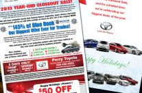 Toyota Year End Closeout