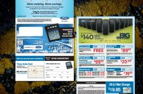 Ford Trifold Service Mailer