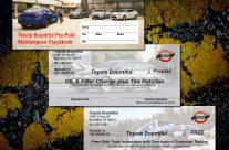 Prepaid 6-Coupon Service Checkbooks