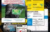 Tire & Service 4-pg Mailer