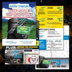Tire & Service 4-pg Mailer