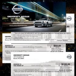 Nissan Service Checkbook