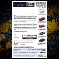 Chrysler Buy Back Letter