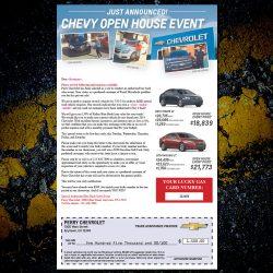 Chevrolet Buy Back Letter