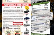 Vehicle Exhange Mailers & Checkbook Giveaway